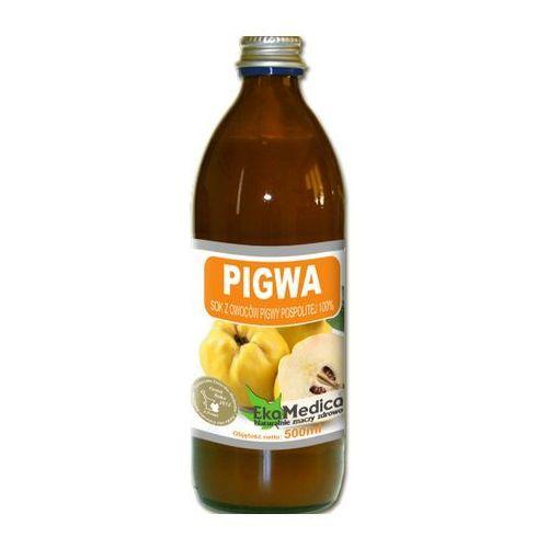 Eka Medica Pigwa 100% sok z owoców pigwy 500ml, EKA MEDICA