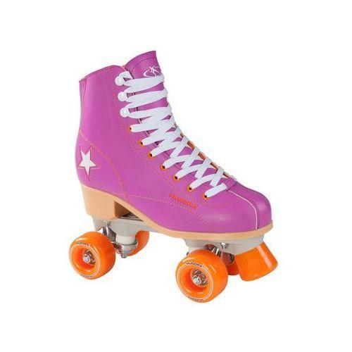 Hudora Disco roller skates purple/Orange size 35 (4005998129807)