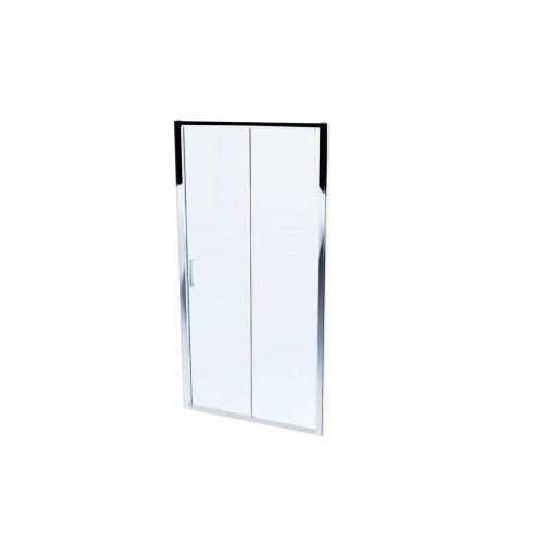 mosa system drzwi prysznicowe 120 cm szkło przezroczyste mskp-mo-0031200 marki Massi