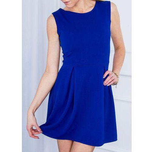 Klasyczna sukienka bez rękawów