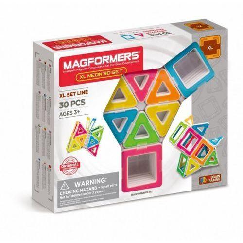 Magformers xl neon 30 elementów (8809465534257)
