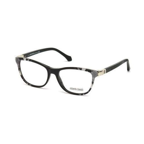 Okulary korekcyjne  rc 09609 sirius 020 marki Roberto cavalli