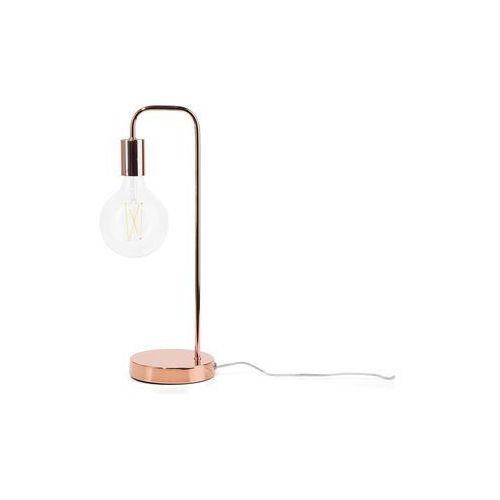 Lampa stołowa miedziana savena marki Beliani