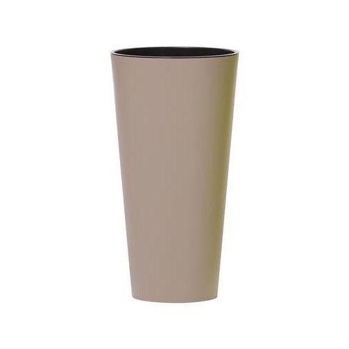 Donica tubus slim cappuccino marki Prosperplast