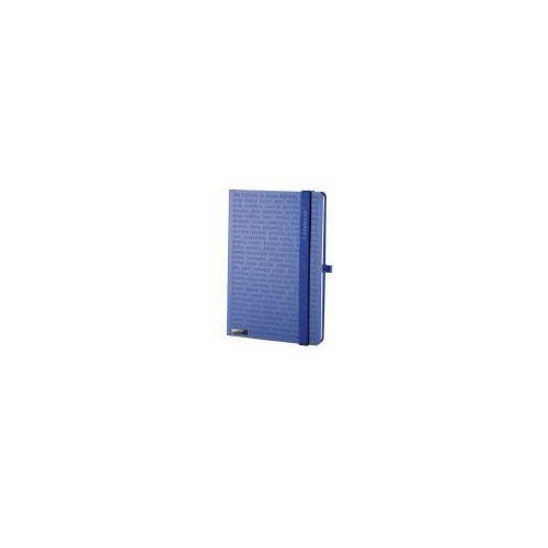 Lediberg Notes a6 lanybook the one matra w kratkę niebieski (8057432191631)