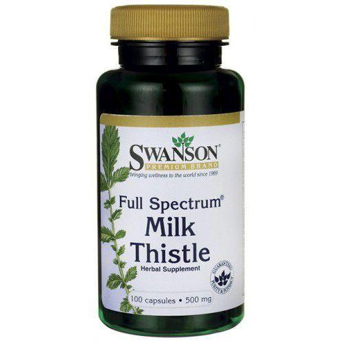 Ostropest plamisty – Milk thistle 500mg 100 kapsułek