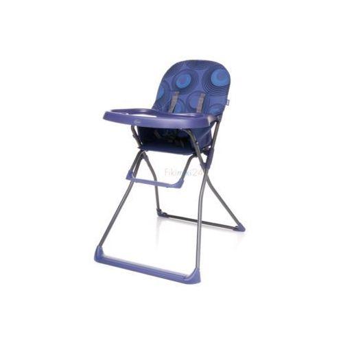 krzesełko do karmienia flower fioletowe marki 4baby