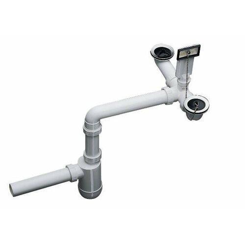 Blanco Armatura przelewowo-odpływowa 2x1,5
