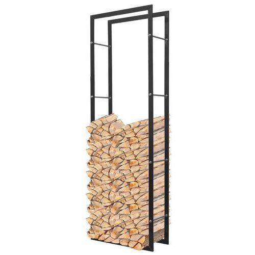 vidaXL Stojak, prostokątny kosz na drewno kominkowe 150 cm - produkt z kategorii- Pozostałe dom i ogród