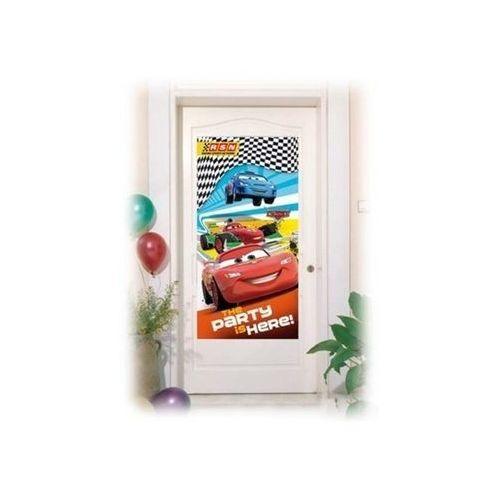 Dekoracja foliowa na drzwi Cars RSN - 152 x 76 cm - 1 szt. (5201184815717)