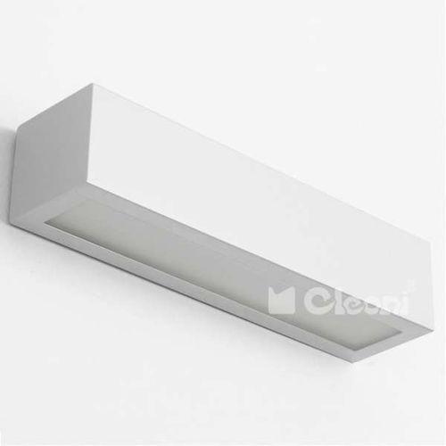 Kinkiet LAMPA ścienna NEKLA 1152K1+kolor Cleoni prostokątna OPRAWA minimalistyczna