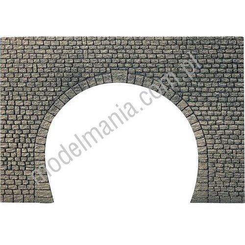 Portal tunelowy, dwutorowy