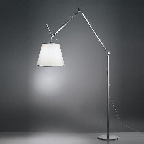 TOLOMEO MEGA TERRA-Lampa podlogowa Abazur regulowany Ø42cm Wys.330cm (3663710076313)