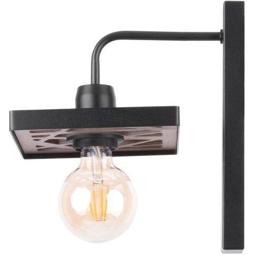 magnum ażur prostokąt 31739 kinkiet lampa ścienna 1x60w e27 czarny marki Sigma