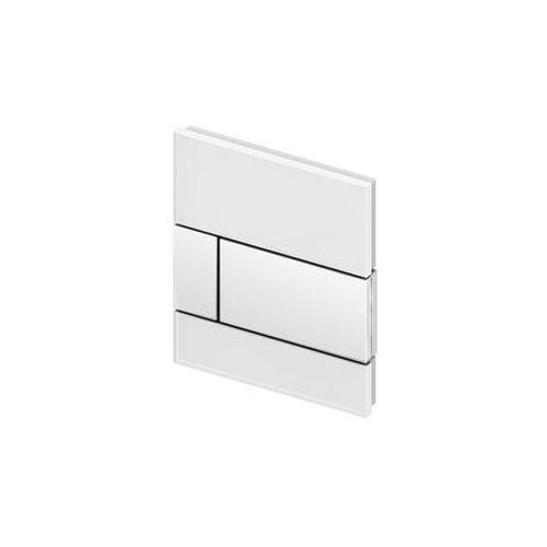 przycisk spłukujący do pisuaru tecesquare szkło białe 9242800 marki Tece