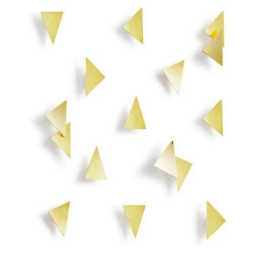 Umbra - dekoracja ścienna confetti trójkąty złote