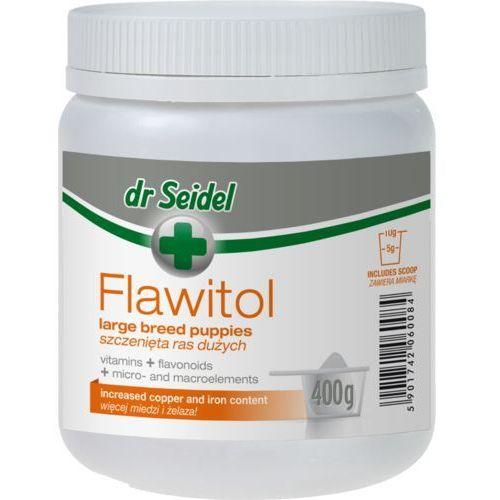 Flawitol preparat witaminowy dla szczeniąt ras dużych proszek op. 400g marki Dr seidel