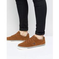 Polo Ralph Lauren Hanford Trainers Suede in Brown - Brown