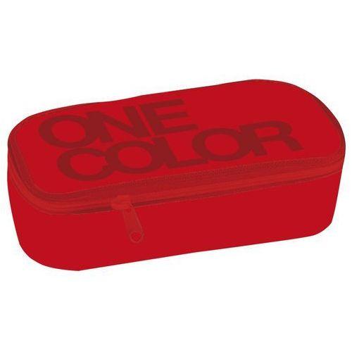 Stil piórnik szkolny z klapką one colour czerwony (8591577045027)