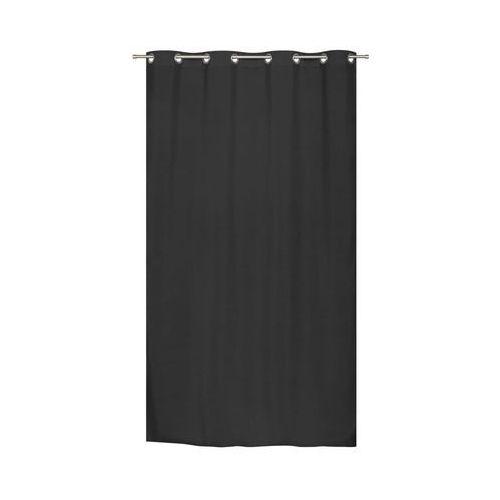 Zasłona gotowa TERMICZNA MF kolor Czarny 140 x 240 cm Kółka 246 g/m² JBY (3599520094127)
