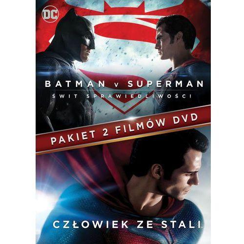 BATMAN VS SUPERMAN: ŚWIT SPRAWIEDLIWOŚCI/CZŁOWIEK ZE STALI (2DVD)