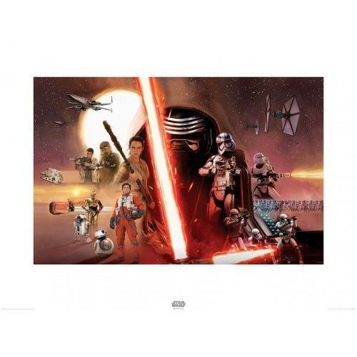 OKAZJA - Pyramid posters Star wars the force awakens galaxy - reprodukcja
