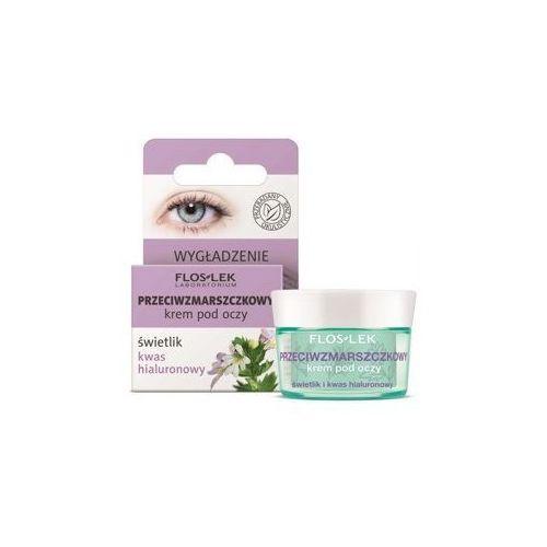 Floslek pielęgnacja oczu krem pod oczy przeciwzmarszczkowy świetlik-kwas hialuronowy 15ml (5905043007021)
