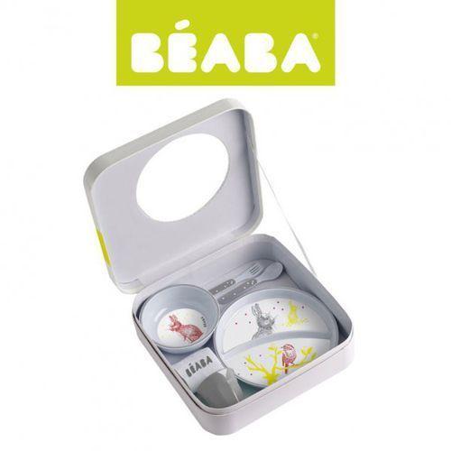 zestaw prezentowy z melaminy bunny marki Beaba