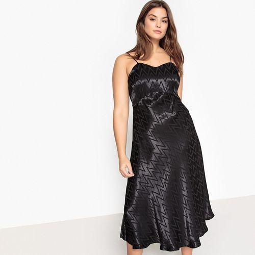 Castaluna Sukienka rozszerzana na cienkich ramiączkach