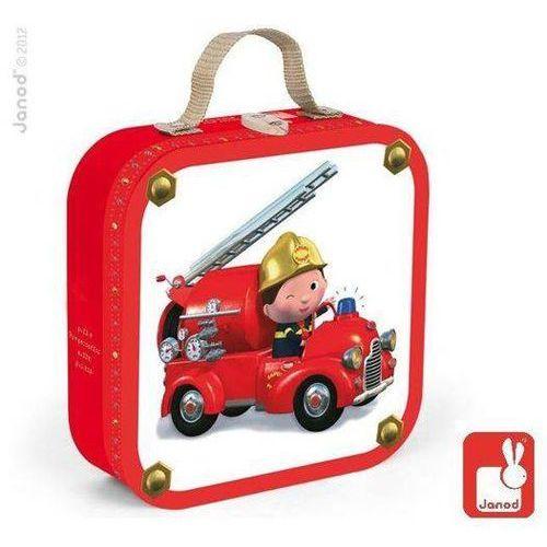 Puzzle Wóz strażacki 4 w 1: 6, 9, 12 oraz 16 elementów