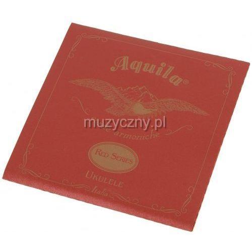 aq 89u struny do ukulele barytonowego d-g-b-e, red marki Aquila