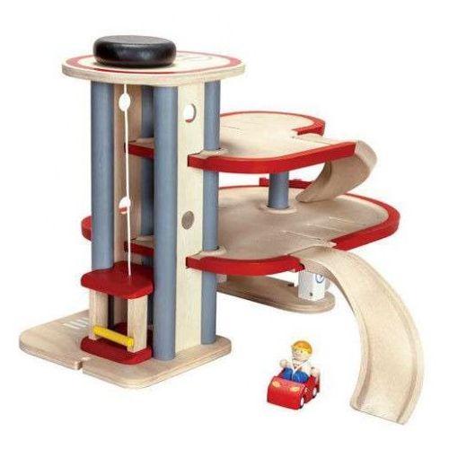 Parking piętrowy / garaż,  marki Plan toys