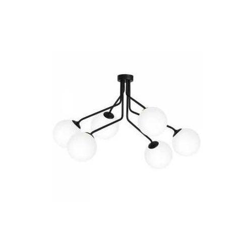 Aldex Brik 978K1/K Plafon lampa sufitowa 6x40W E14 czarny