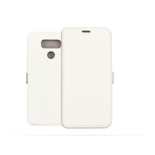 LG G6 - etui na telefon Wallet Book - biały, kolor biały