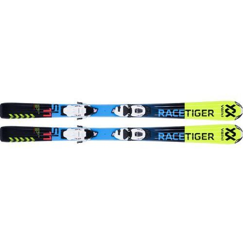 Narty zjazdowe Racetiger JR. vMotion Yellow 120 Marker FDT 4.5 System (70mm)