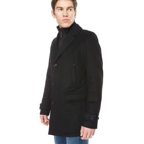 Hugo Boss Conway Płaszcz Czarny XXL, kolor czarny