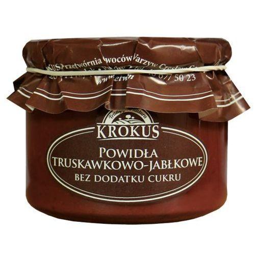 Krokus 310g powidła truskawkowo-jabłkowe bez dodatku cukru tradycyjna receptura (5906732624093)