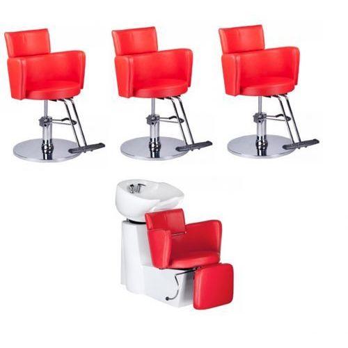 Vanity Zestaw fryzjerski luigi czerwony
