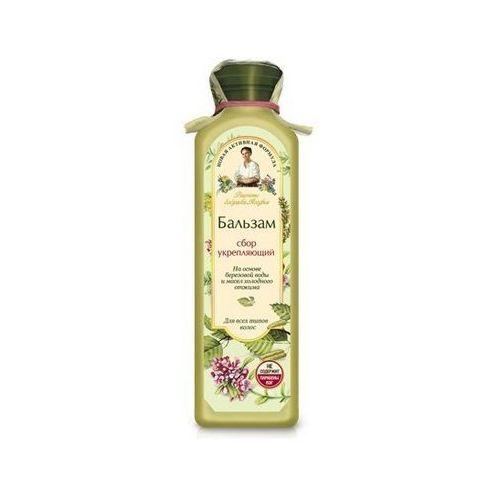 Babuszka agafia balsam do włosów jasny - wzmacniający do wszystkich rodzajów włosów 350ml marki Pierwoje reszenie, rosja
