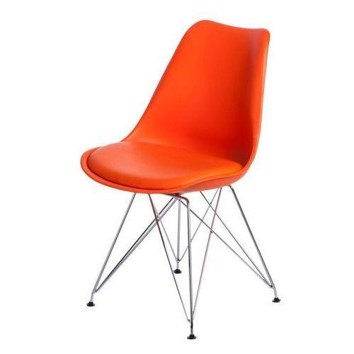 Krzesło Norden DSR PP pomarańczowe 1614 - pomarańczowy (5902385729536)