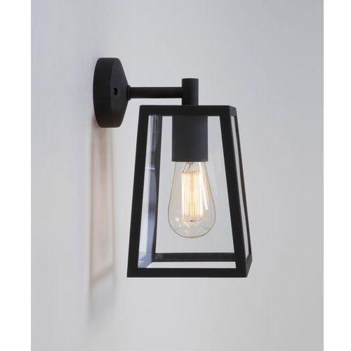 Zewnętrzna lampa ścienna calvi, czarna oprawa marki Astro