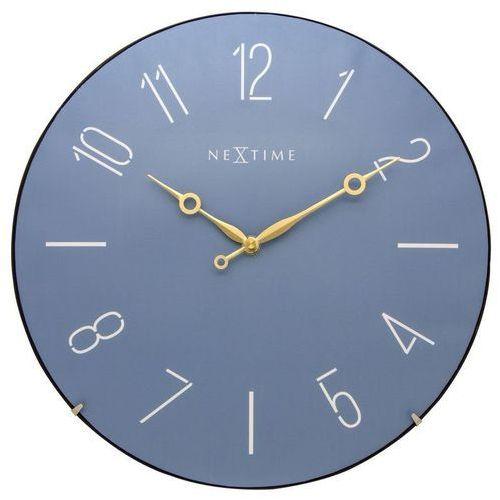 - zegar ścienny trendy dome - niebieski marki Nextime