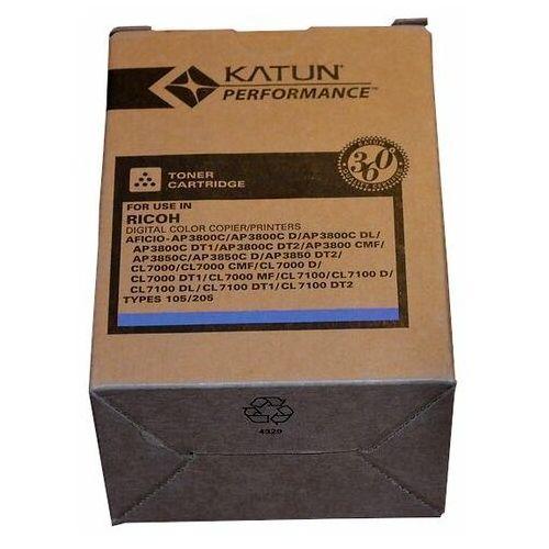 Wyprzedaż Toner Katun zamiennik Ricoh Type 105 205 885409 do Ricoh Aficio AP3800C AP3850C CL7000 CL7100 | 10 000 str. | cyan
