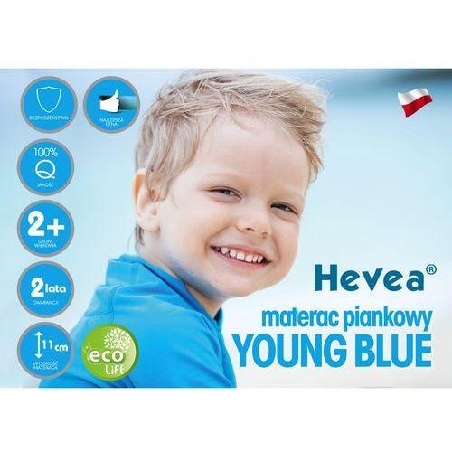 MATERAC PIANKOWY HEVEA YOUNG BLUE 160x80 Sklep firmowy Hevea w Krakowie - RABATY i GRATISY sprawdź