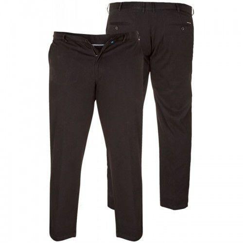 D555 bruno duże spodnie męskie czarne marki Duke