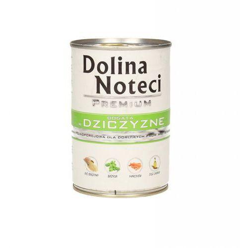 DOLINA NOTECI PREMIUM BOGATA W DZICZYZNĘ 400 g, PDOL002