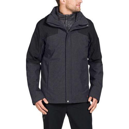 caserina kurtka mężczyźni szary xl 2018 kurtki wielofunkcyjne 3 w 1 marki Vaude