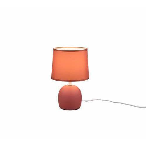 Trio rl malu r50802618 lampa stołowa lampka 1x10w e14 pomarańczowa/pomarańczowa (4017807489705)