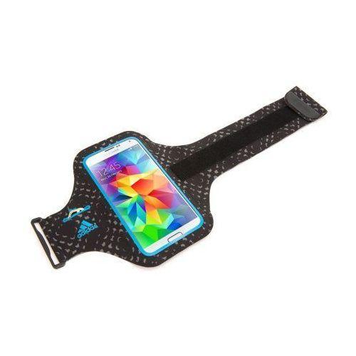 ADIDAS ARMBAND GALAXY S5/S6 BLACK/BLUE z kategorii Futerały i pokrowce do telefonów