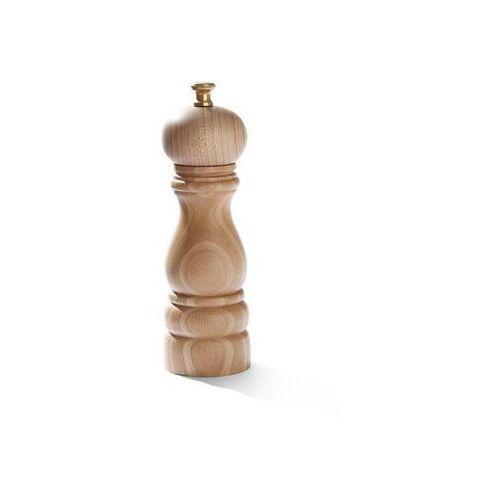 Młynek do pieprzu drewniany jasny